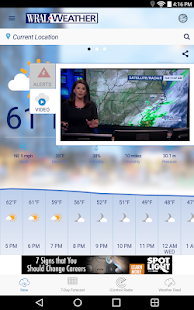 WRAL Weather APK image thumbnail 14
