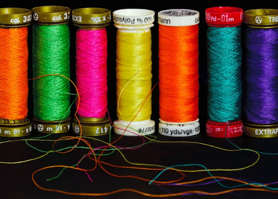 The colors of sewing di www.fioregiallophoto.it