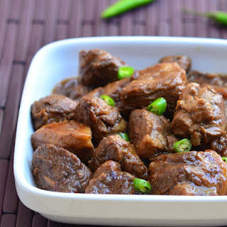 Filipino Beef Adobo sa Gata