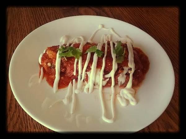 Anaheim Chili Relleno With Chorizo Cheese Sauce