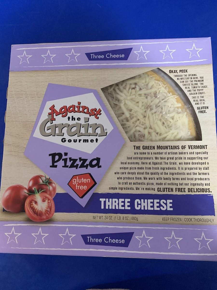 Gluten Free Three Cheese Pizza