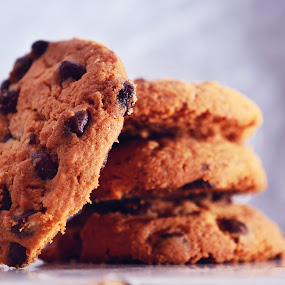 Chocolate chip by Alina Dinu - Food & Drink Candy & Dessert ( chocolate, sweet, sweets, candy, food, cookies, dessert )