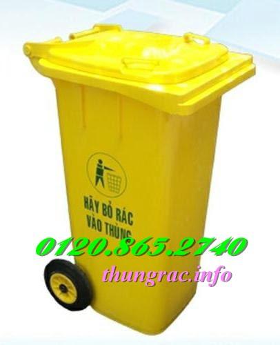 Thùng rác y tế 120l