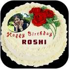 Name Photo On Birthday Cake by Roshiapps icon