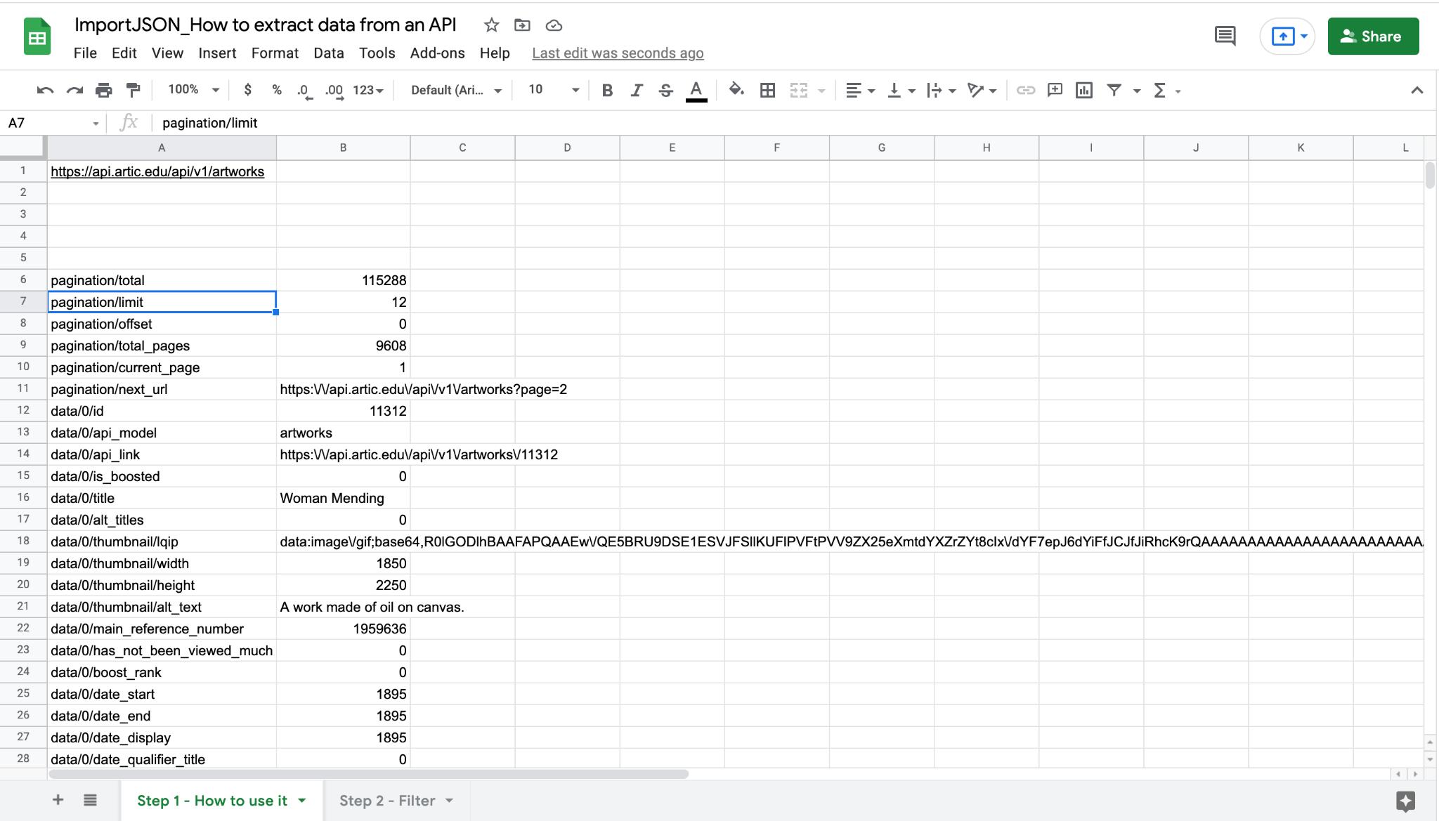 Retrieve interesting data from APIs with no coding skills