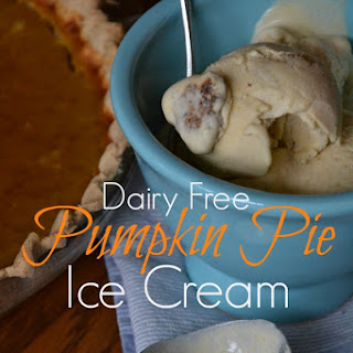 Dairy Free Pumpkin Pie Ice Cream
