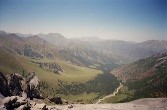 Photo: Ak-Tuya (view from plateau near Kum-Bel pass)