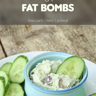 Cheesy Pesto Fat Bombs