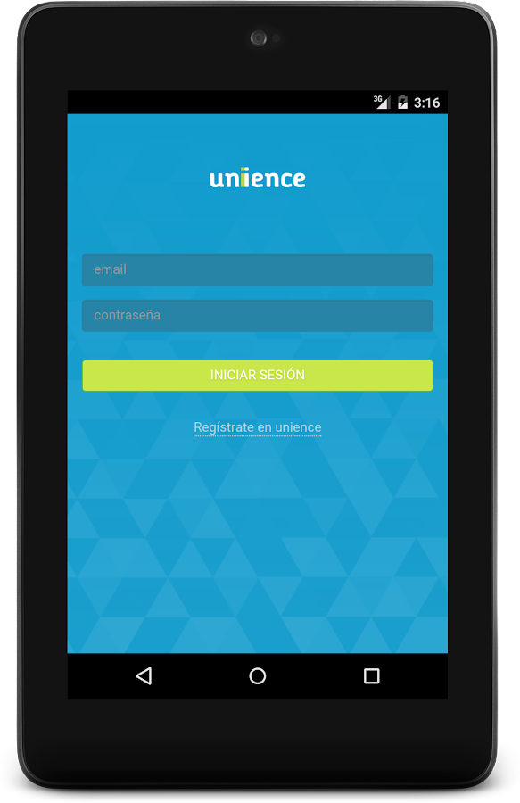 Unience- screenshot