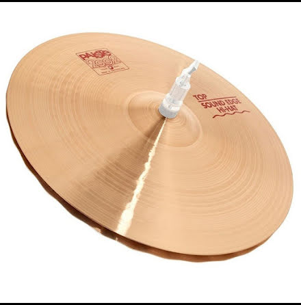 "17"" Paiste 2002 - Sound Edge Hi-hat"