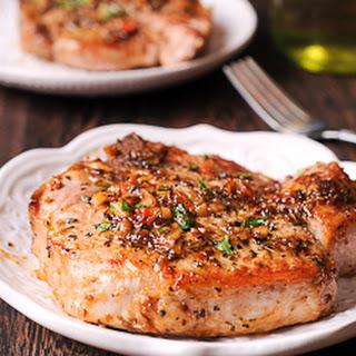 Pork Chops in Brown Sugar and Wine Sauce (Low Carb) Recipe