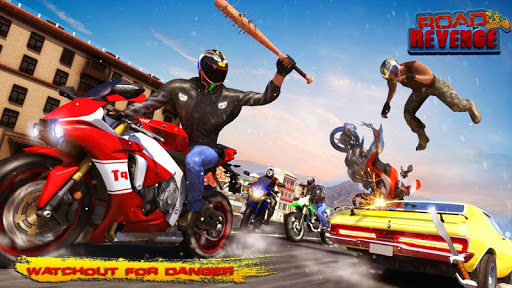 Road Revenge - Bike Games image | 15