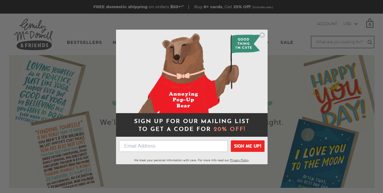 25 Creative Popup Ideas for Your Shopify Store   MageWorx Shopify Blog