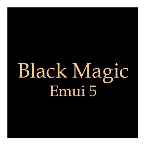 Black Magic Emui 5.0 Theme