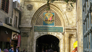 "Photo: Entry to the Grand Bazaar (or ""how much you pay?"" land as Rick Steves puts it)"