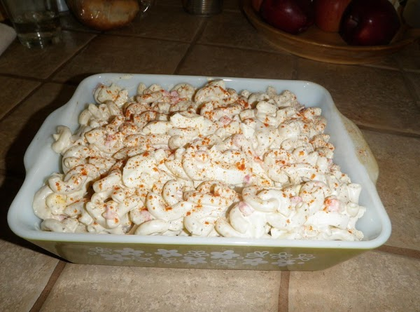 Aunt Tony's Macaroni Salad Recipe