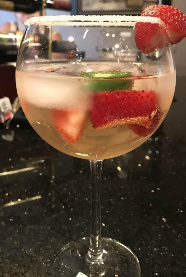 Strawberry Jalapeno White Sangria Recipe