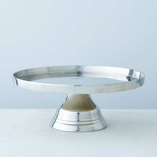 Silver-Plated Cake Stand