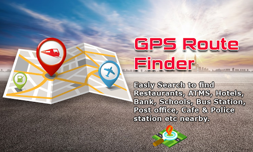 GPS Route Finder: Compass Directions & Near Places - náhled