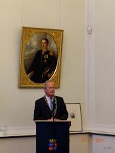 Photo: De Burgemeester van Wassenaar, Mr. Jan Hoekema