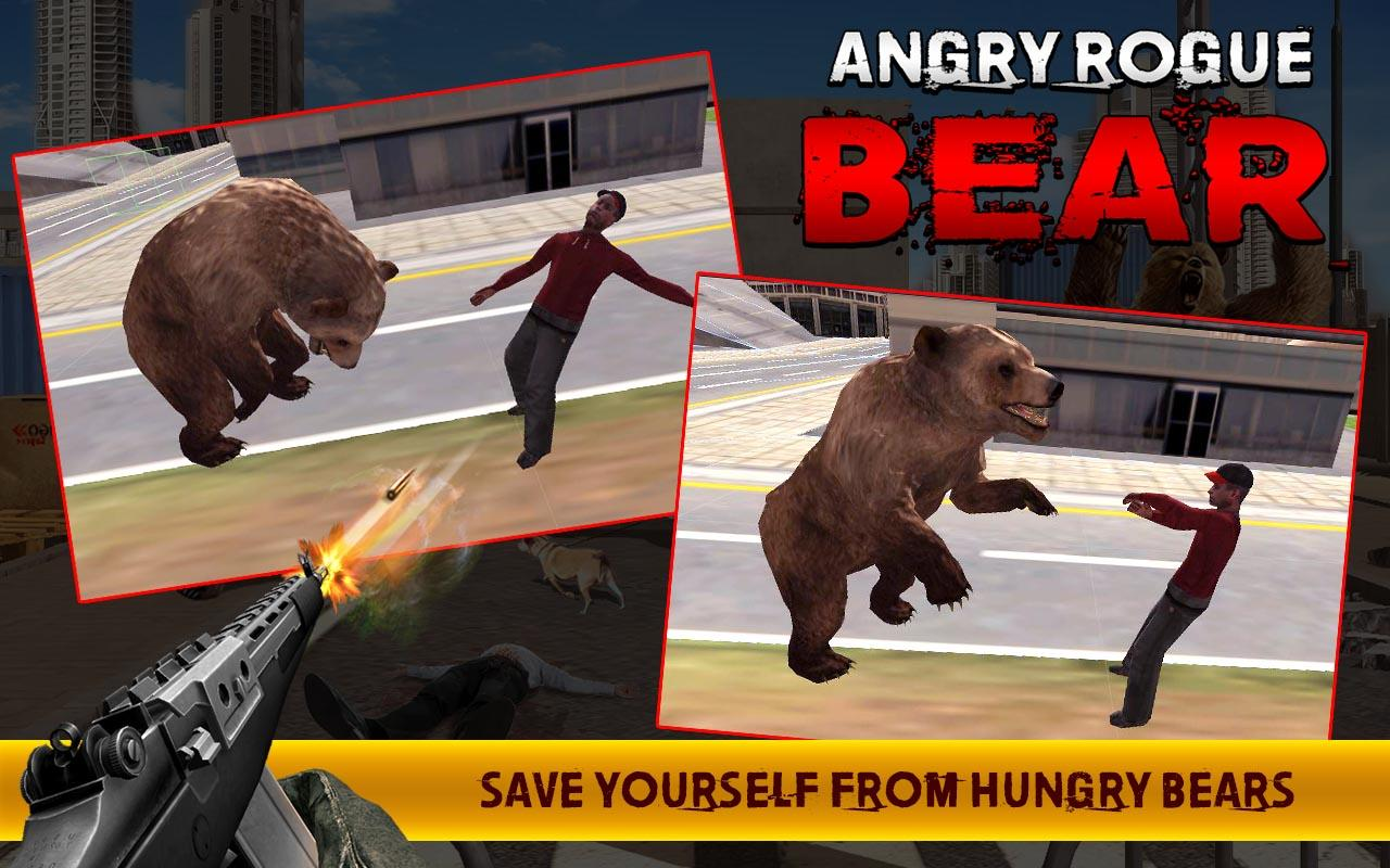 Angry Rogue Beruang Apl Android Di Google Play
