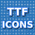 TTF Icons. Browse Font Awesome, Glyphicons & more