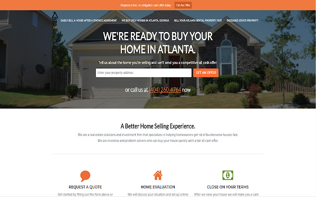 Sell My House Fast Atlanta