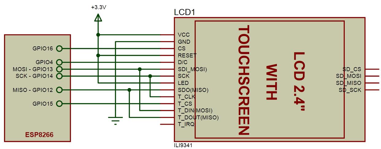 TFT ILI9341 display - Everything ESP8266