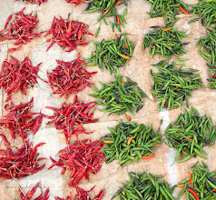 Photo: Chillies Onokudeli (Ankadeli) Market Orissa