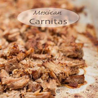 Mexican Pulled Pork (Carnitas).