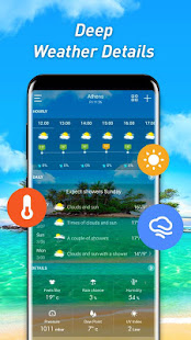 Weather forecast & weather alerts & forecast radar APK image thumbnail 1