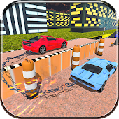 Extreme Chained Car Racing 3D Android APK Download Free By Time To Parking