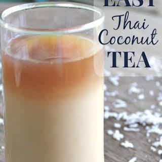 Thai Coconut Tea.