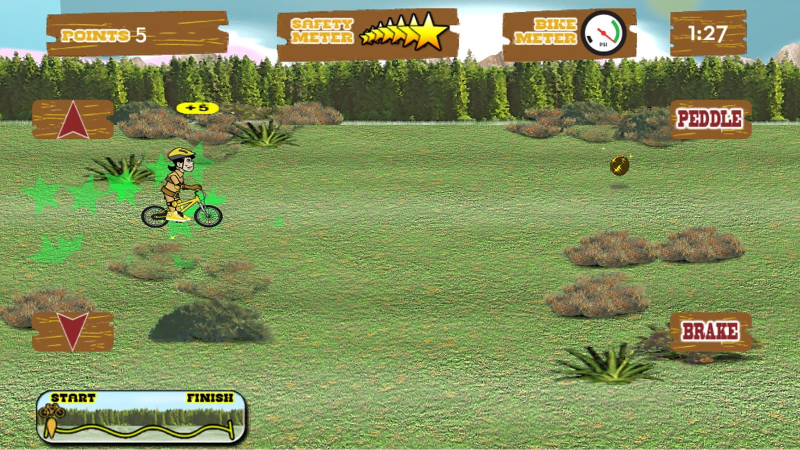 Wild West Bike Express- screenshot