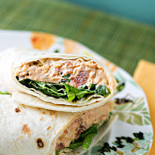 Chicken Enchilada Wraps.