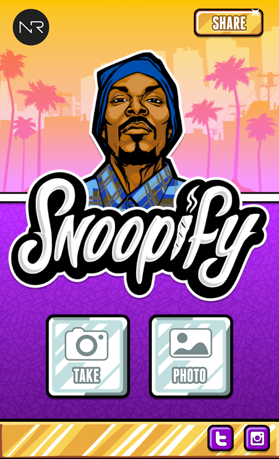 Snoop Lion's Snoopify!- screenshot