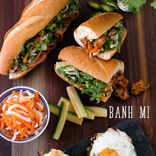 Build Your Own Banh Mi.