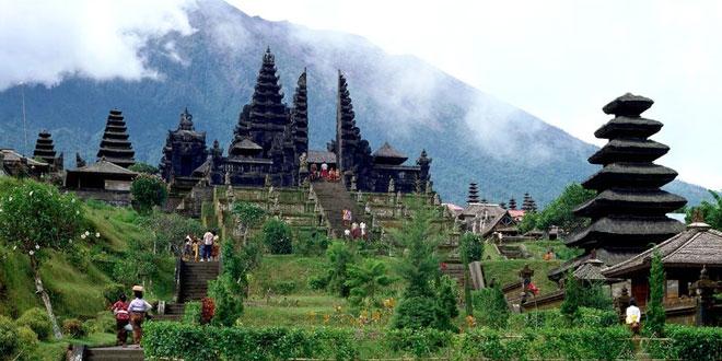 The oldest Hindu temple in Bali Besakih Temple