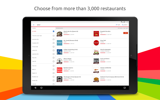 Just Eat - Order Food Delivery  screenshots 7