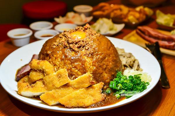 三上咖哩-咖喱飯和炸雞宵夜時刻的滿足