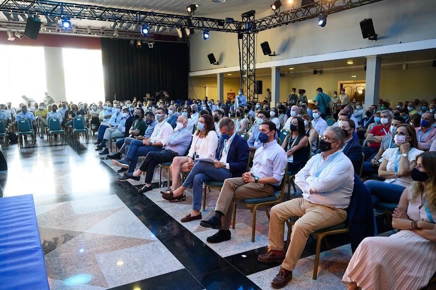 Lleno total en el congreso popular almeriense.