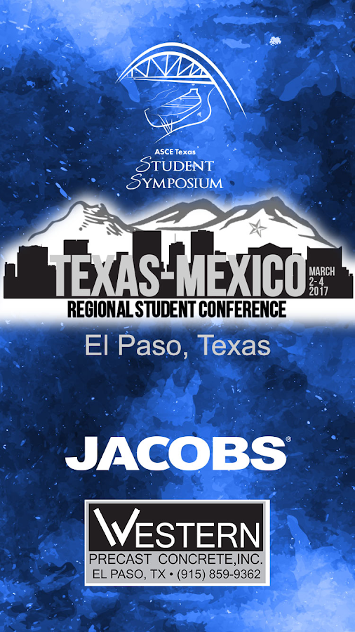 ASCE Texas Student Symposium- screenshot