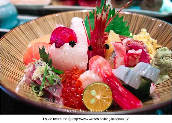 元手壽司。超豐盛散壽司,料多好滿足