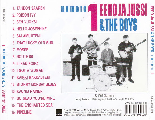 Numero 1 CD:n takakansi (2011)