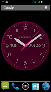 Modern Clock For Android-7 PRO - náhled
