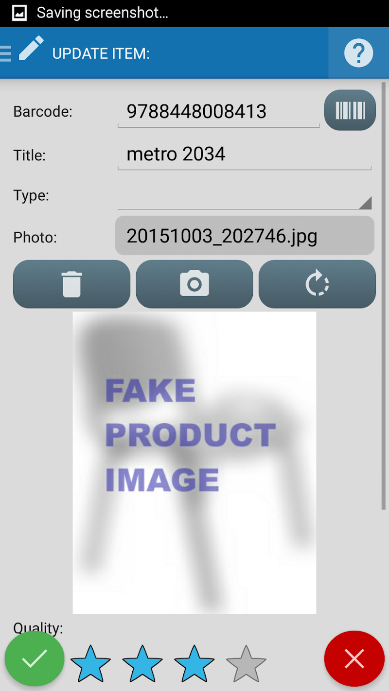 Inventory + Barcode scanner: inventory management Screenshot 5