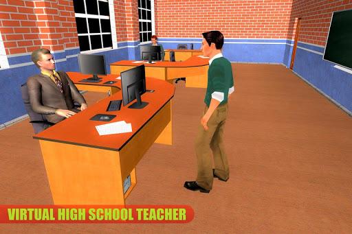 Virtual High School Teacher Life Simulator 3.1 screenshots 8