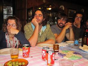 Photo: Cena con la gente de La Maleta, en Palas de Rei.