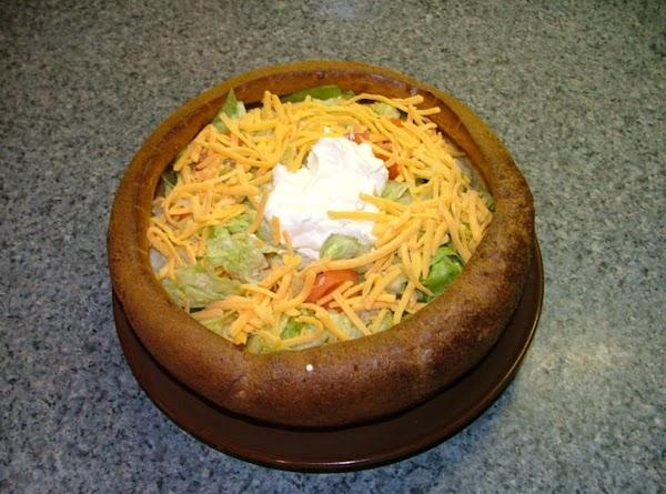 Taco Salad Puff Bowl Recipe