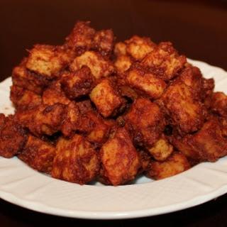 Vegetarian Barbecue Bourbon Chicken Bites